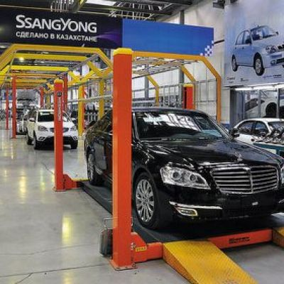 Kazakhstan car manufacturing industry doubled production volumes